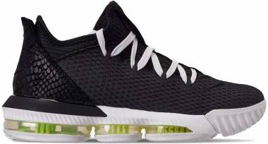 Nike LeBron 16 Low - Black Summit White Volt