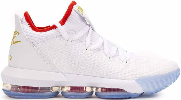 Nike LeBron 16 Low - Multicolore White Metallic Gold University Red 000 (CI2668100)