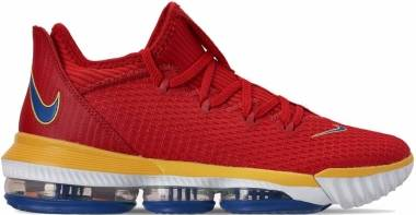 Nike LeBron 16 Low - University Red / University Royal
