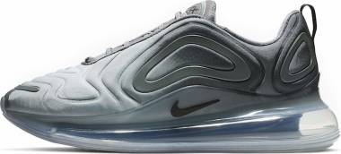 6491f66215dc9 Nike Air Max 720 Cool Grey, Black-metallic Silver Men