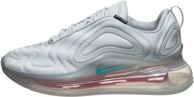 Nike Air Max 720 - Wolf Grey/Teal Nebula/Red Orbit/White