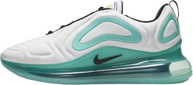 Nike Air Max 720 - WHITE/BLACK-AURORA GREEN (AO2924101)