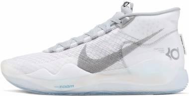 Nike KD 12 - White/Wolf Grey