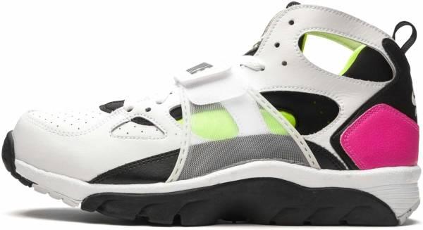 Nike Air Trainer Huarache - White/Black-laser Fuchsia-volt (679083109)