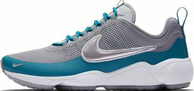 Nike Air Zoom Spiridon - wolf grey metallic platinum 004 (876267004)