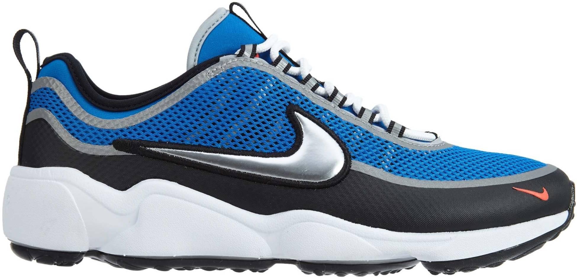 Nike Air Zoom Spiridon sneakers in blue (only $150) | RunRepeat