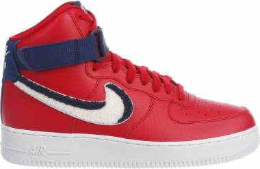 dca1e4f8ae480d Nike Air Force 1 High 07 LV8 1 Gym Red / White-blue Void-