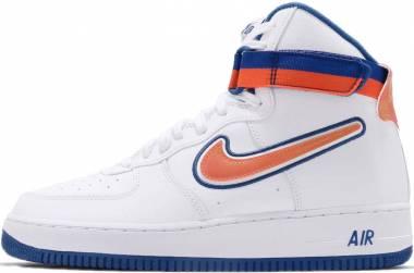 Nike Air Force 1 High 07 LV8 1 - Mehrfarbig White Team Orange Game Royal 100 (AV3938100)