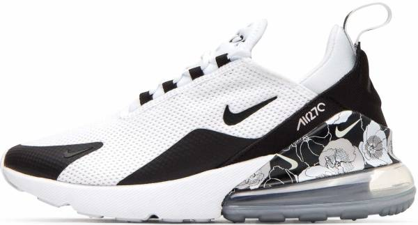 Nike Air Max 270 SE - Multicolour White Black Metallic Silver 100 (AR0499100)