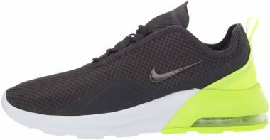 Nike Air Max Motion 2 - Oil Grey/Metallic Grey/Volt (AO0266014)