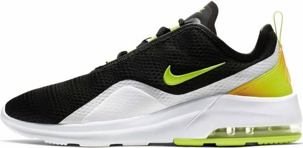 Nike Air Max Motion 2 Black / Volt / White / Total Orange