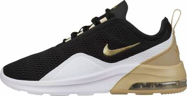 Nike Air Max Motion 2 Black / Metallic Gold Star / White Men