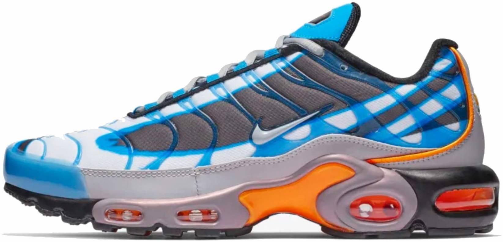 Nike Air Max Plus Premium sneakers in blue (only $150)   RunRepeat