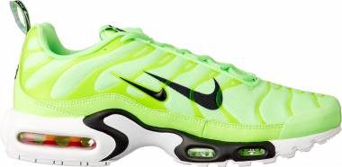 Nike Air Max Plus Premium Lime Blast Black White 300 Men