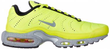 Nike Air Max Plus Premium - Volt Matt Silver Wolf Grey 700