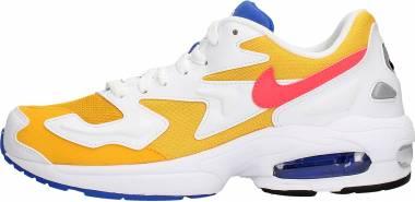 Nike Air Max2 Light - University Gold / Flash Crimson-White (AO1741700)