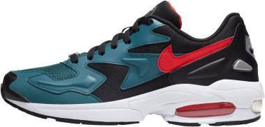 Nike Air Max2 Light - Black/Habanero Red-geode Teal (AO1741004)