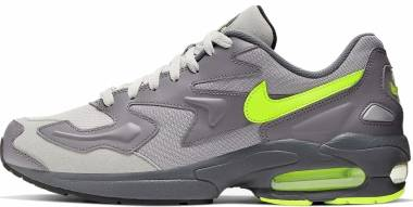 Nike Air Max2 Light - GUNSMOKE/VOLT-VAST GREY (CJ0547001)