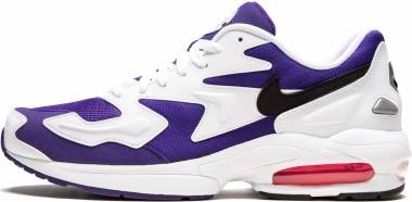 Nike Air Max2 Light - White / Black Court-Purple (AO1741103)