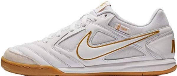 reputable site 81fb0 9bb49 Nike SB Gato White White-metallic Gold