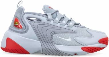 Nike Zoom 2K - Grey Fog/White-lt Smoke Grey-track Red (AO0354006)