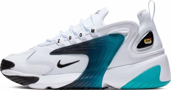 Nike Zoom 2K - White/Black-teal-nebula