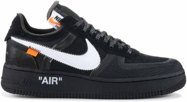 Off-White x Nike Air Force 1 Low - Black (AO4606001)
