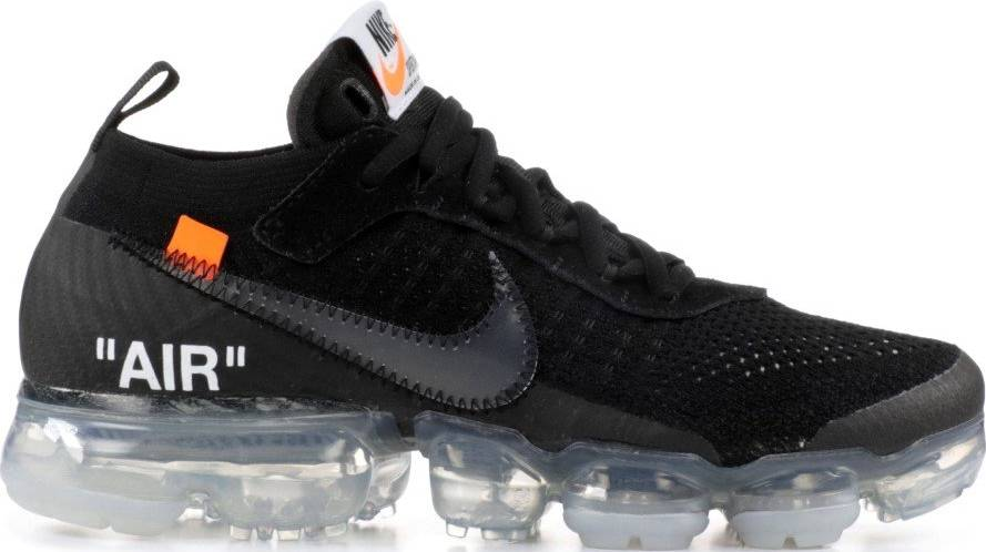 Húmedo Saludar cápsula  Off-White x Nike Air VaporMax sneakers in black | RunRepeat