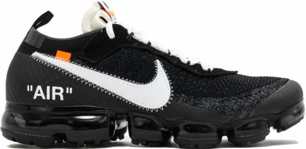 Off-White x Nike Air VaporMax black, white-clear