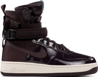 Nike SF Air Force 1 Premium - Port Wine/Space Blue (AJ0963600)