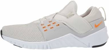 Nike Free x Metcon 2 - Light Bone/Orange Peel/White/Black