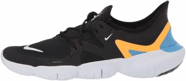Nike Free RN 5.0 - Black White Univ Blue (AQ1289013)