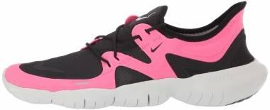 Nike Free RN 5.0 - Pink Blast/Black-platinum-tint (AQ1289601)