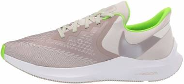 Nike Air Zoom Winflo 6 - Desert Sand/Pumice/Electric Green (AQ7497003)