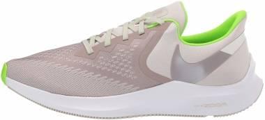 Nike Air Zoom Winflo 6 - Desert Sand / Pumice / Electric Green