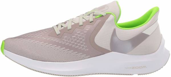 Nike Air Zoom Winflo 6 - Desert Sand/Pumice/Electric Green (AQ7497003)