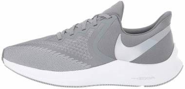 Nike Air Zoom Winflo 6 - Cool Grey / Metallic Platinum / Wolf Grey / White