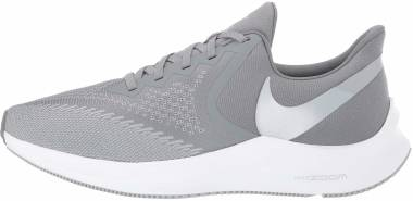 Nike Air Zoom Winflo 6 - Mehrfarbig Cool Grey Mtlc Platinum Wolf Grey White 2 (AQ7497002)