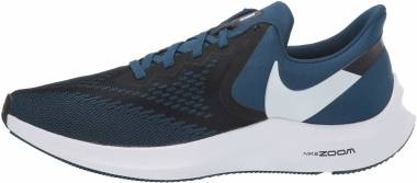 Nike Air Zoom Winflo 6 - Black / White / Blue Force