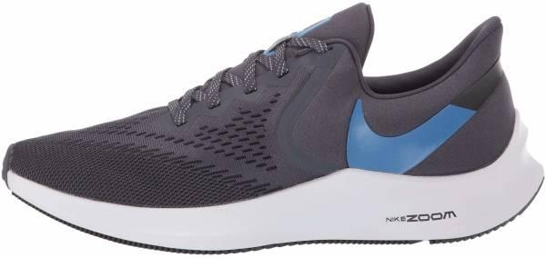 Nike Air Zoom Winflo 6 - Gridiron Mountain Blue Black Vast Grey (AQ7497009)