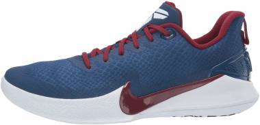 Nike Mamba Focus - Multicolore Coastal Blue Team Red White 400