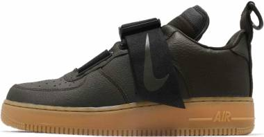 Nike Air Force 1 Utility - Sequoia/ Black- Gum- Medium Brown
