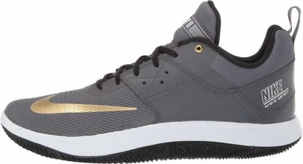 Nike Fly.By Low II - Dark Grey/Metallic Gold-white-black (AJ5902002)