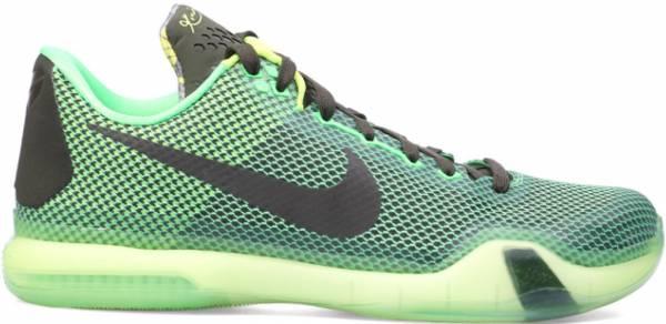 Nike Kobe 10 - Poison Green, Sequoia-sq-vlt (705317333)