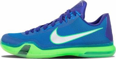 Nike Kobe 10 - Blue Green Silver (705317402)