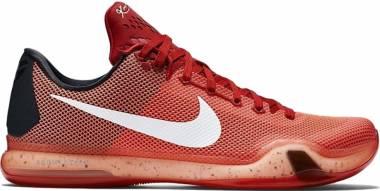 Nike Kobe 10 - University Red/White-bright Crimson