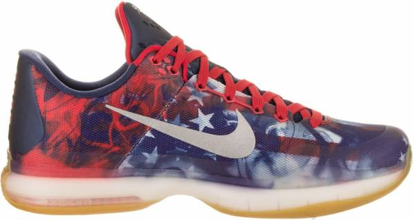 purchase cheap adb81 43c92 Nike Kobe 10 Unvrsty Red, Rflct Slvr-pht Bl