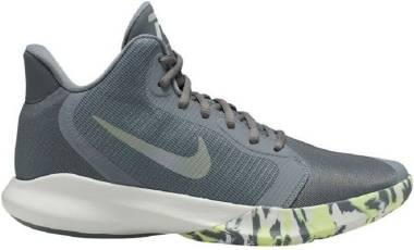 Nike Precision 3 - Grey (Cool Grey/Dk Grey-platinum Tint-lab Green 007)