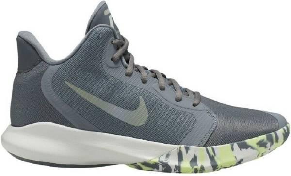 Nike Precision 3 - Grey (Cool Grey/Dk Grey-platinum Tint-lab Green 007)