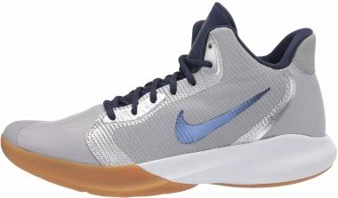 Nike Precision 3 - Light Smoke Grey Midnight Navy (AQ7495008)